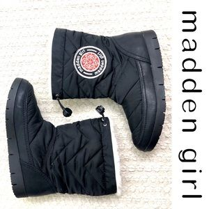 Madden Girl Icicle winter snow boots